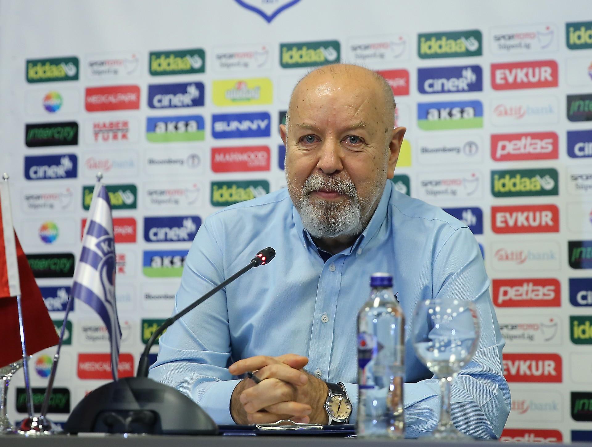 Mustafa Denizli: Hedeflerimizin dışına düşmeyeceğiz 92